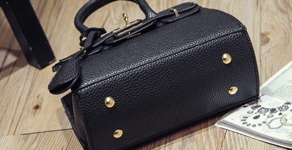 Женская сумка мини черная