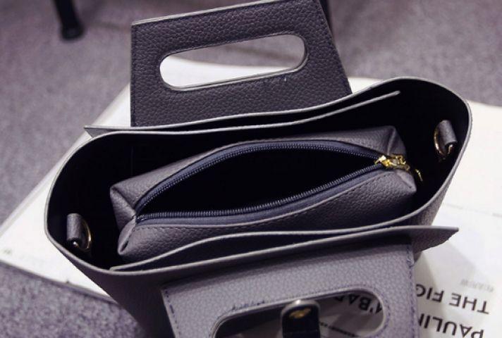 Женская сумка серая