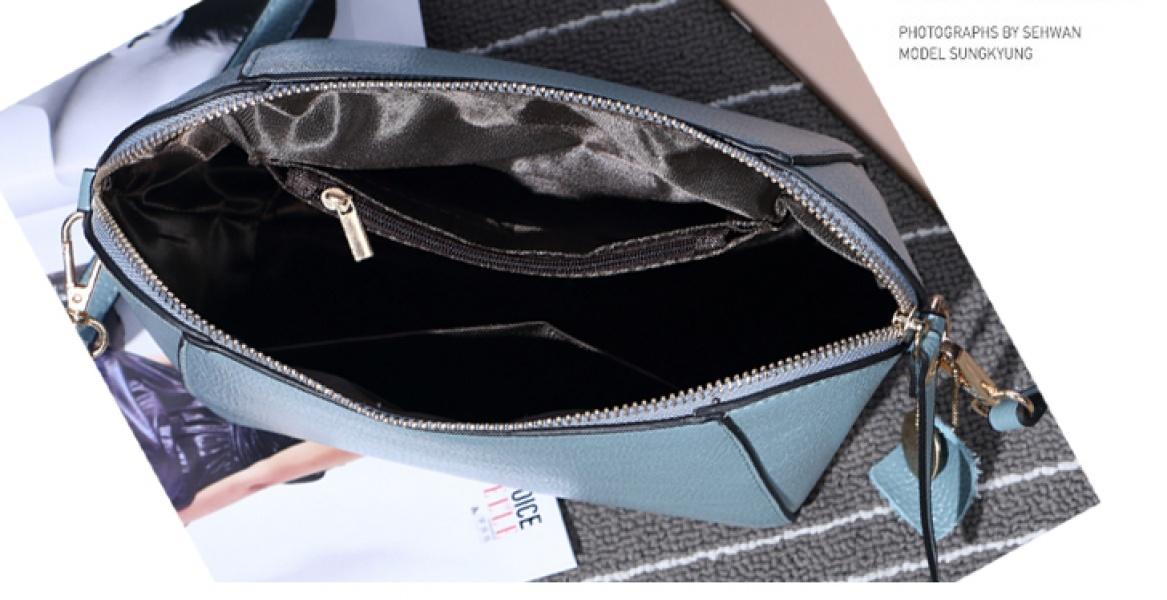 Женская сумка голубая