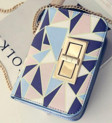 Женская сумка цветная