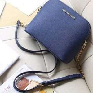 Женская сумка Michael Kors Cindy Crossbody Bag Blue реплика