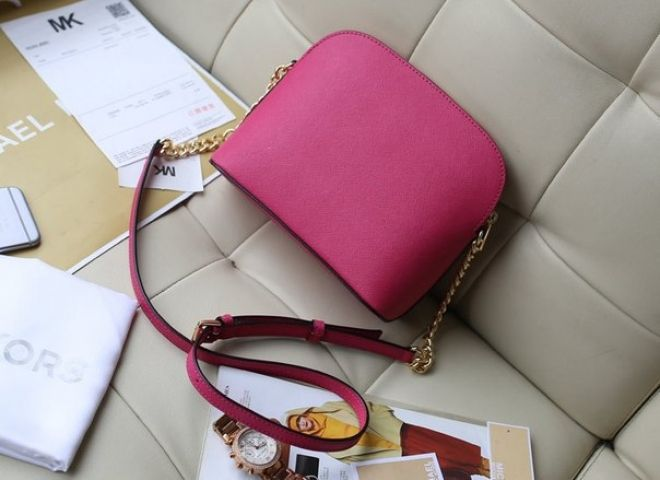 Женская сумка Michael Kors Cindy Crossbody Bag Pink реплика