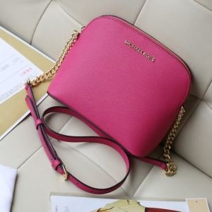 Женская сумка Michael Kors Cindy Crossbody Bag Pink реплика