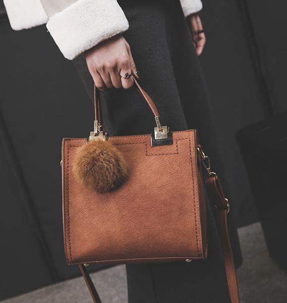Сумка женская коричневая