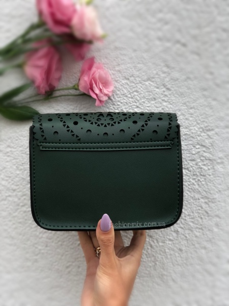 Женская сумка зеленая FM0664A