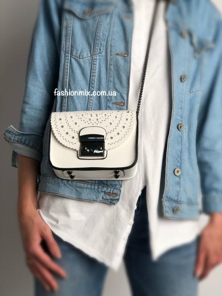 Женская сумка белая FM0664C