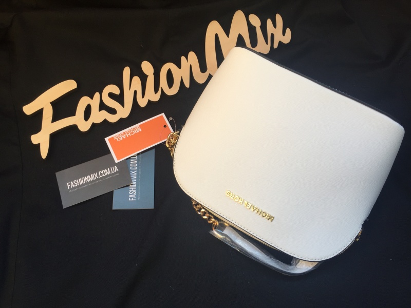 Женская сумка Michael Kors Cindy Crossbody Bag White реплика