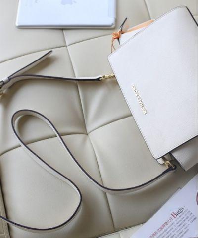 278a6be029a0 Купить Женская сумка Michael Kors Selma Messenger White реплика ...