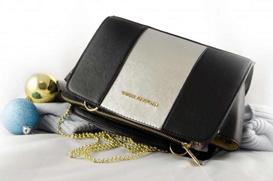 Женская сумка Michael Kors черная реплика