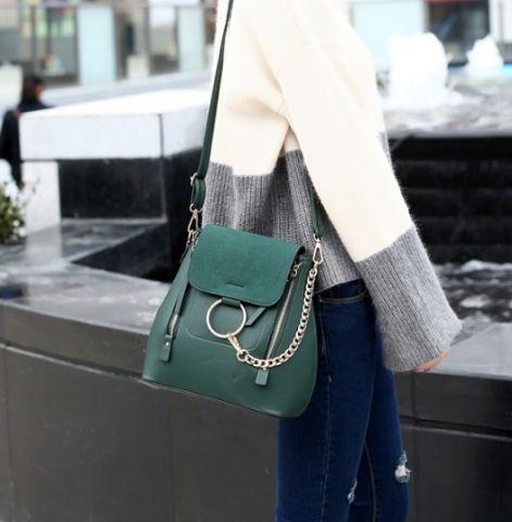 Рюкзак женский зеленый