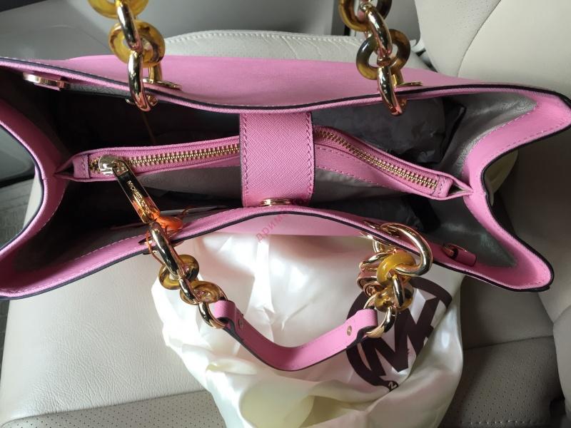 Сумка MK CYNTHIA розовая реплика