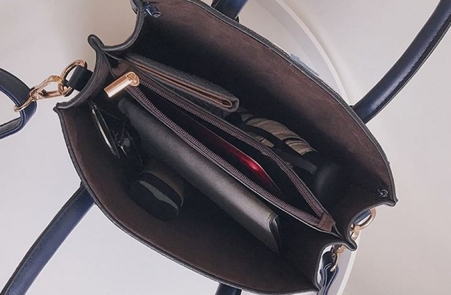 Женская сумка синяя