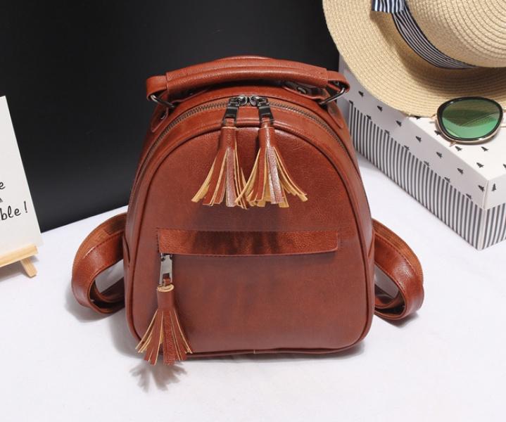 Рюкзак женский коричневый