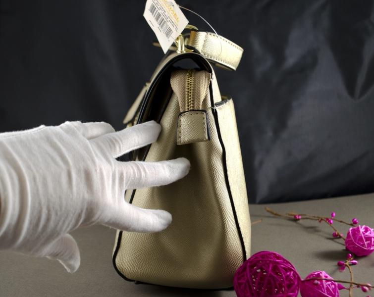 Сумка Michael Kors AVA золотая реплика