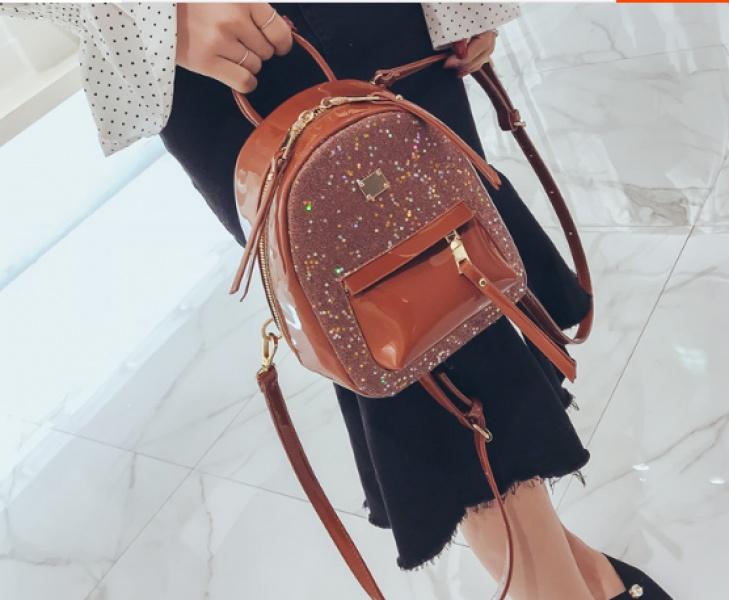 Рюкзак женский оранжевый