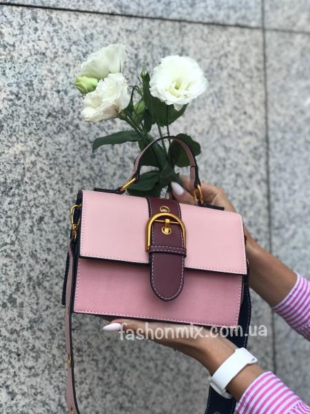 Сумка женская розовая