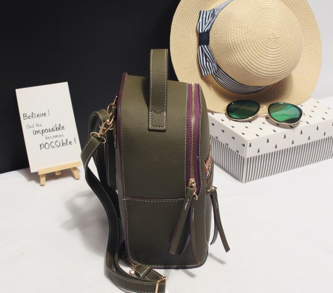 Рюкзак женский хаки