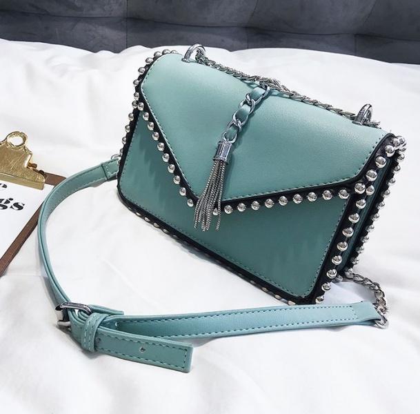 6658dfdb46a5 Сумка женская голубая FM0744D купить по самой низкой цене | Интернет ...