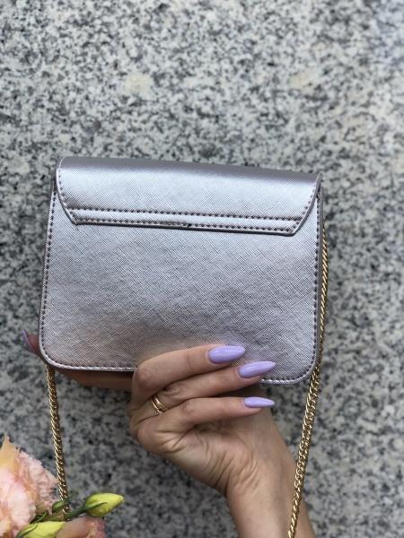 Сумка женская серебро