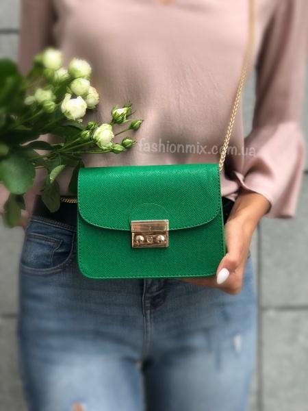 Сумка женская зеленая FM0663J