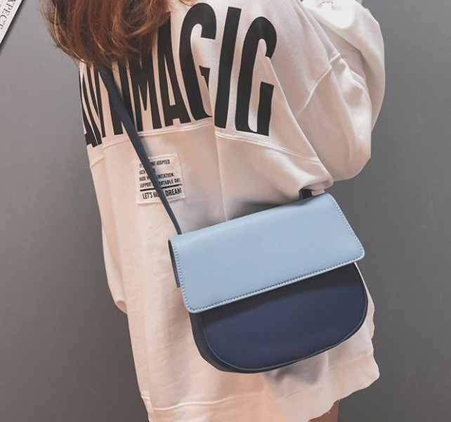 Женская сумка синяя FM0791B