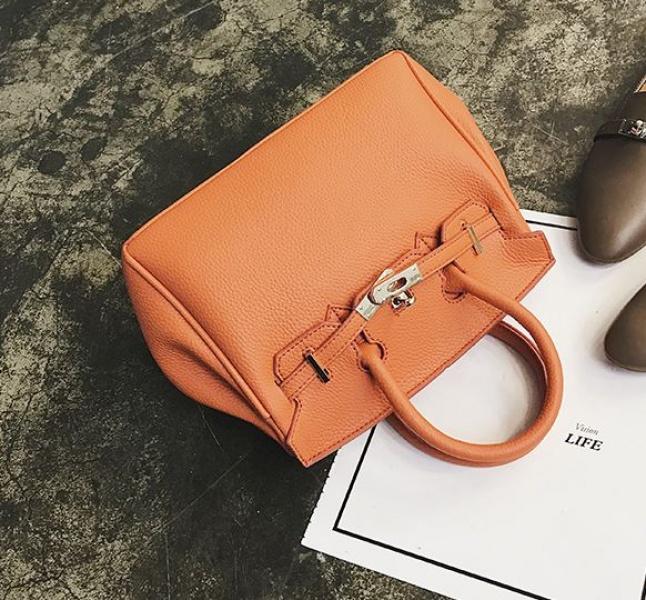 Сумка женская оранжевая