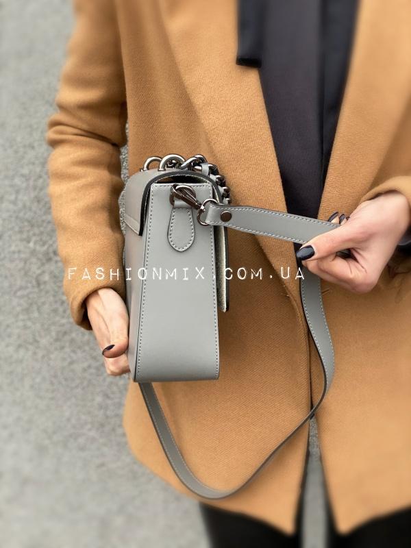 Женская сумка серая FM0798D