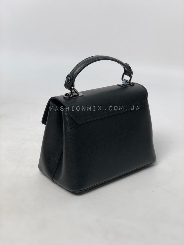 Сумка женская кожаная черная FM0833B
