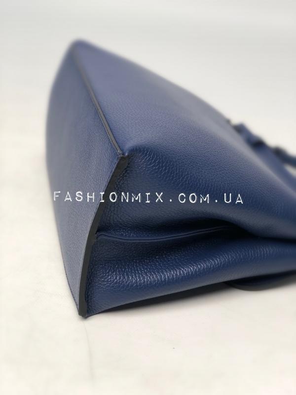 Сумка женская кожаная синя FM0834A